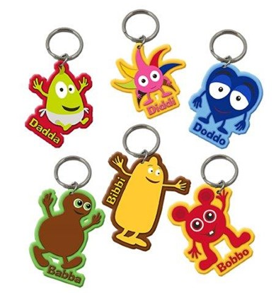 52003640 Key Rings rubber